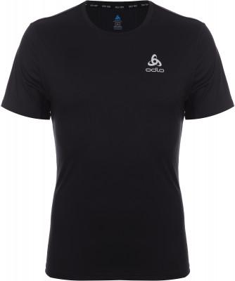 Футболка мужская Odlo Element, размер 48-50Мужская одежда<br>Удачный выбор для пробежки - технологичная футболка odlo. Отведение влаги легкая быстросохнущая ткань обеспечивает быстрое отведение влаги от тела.