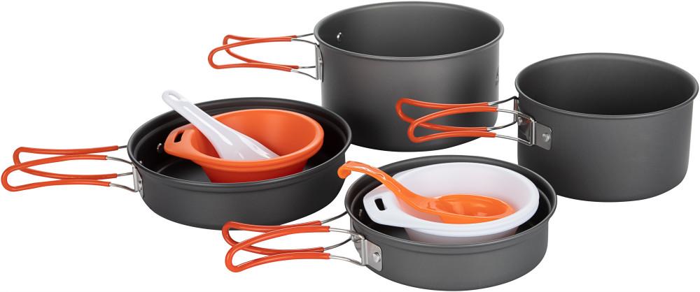 Набор посуды: 2 котелка, 2 сковороды Fire-Maple FMC-K7 FMC-K7