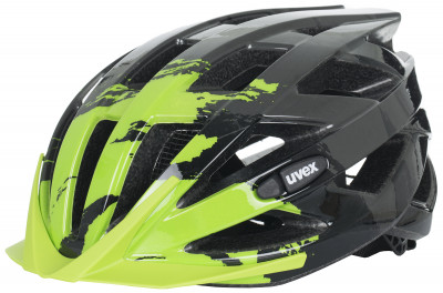 Шлем велосипедный UvexУниверсальный шлем от uvex, который подойдет как для городского катания, так и для велопрогулок на природе.<br>Конструкция: In-mould; Вентиляция: Принудительная; Регулировка размера: Да; Тип регулировки размера: Поворотное кольцо 3D IAS; Материал внешней раковины: Поликарбонат; Материал внутренней раковины: Вспененный полистирол; Материал подкладки: Полиэстер; Сертификация: EN 1078; Технологии: FAS, IAS 3D 3.0, monomatic; Вес, кг: 0,225; Пол: Мужской; Возраст: Взрослые; Производитель: Uvex; Артикул производителя: S4104171615; Срок гарантии: 6 месяцев; Страна производства: Германия; Размер RU: 52-56;