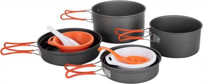 Набор посуды: 2 котелка, 2 сковороды Fire-Maple FMC-K7
