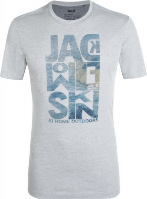 Футболка мужская Jack Wolfskin Atlantic Ocean, размер 58