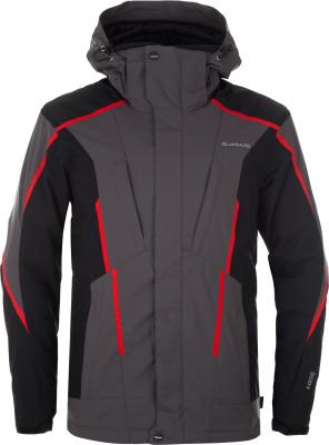 Куртка утепленная мужская GlissadeМужская куртка от glissade станет отличным выбором для катания на горных лыжах.<br>Пол: Мужской; Возраст: Взрослые; Вид спорта: Горные лыжи; Вес утеплителя на м2: 100 г/м2; Наличие мембраны: Да; Регулируемые манжеты: Да; Водонепроницаемость: 10 000 мм; Паропроницаемость: 10 000 г/м2/24 ч; Защита от ветра: Да; Покрой: Прямой; Дополнительная вентиляция: Да; Проклеенные швы: Да; Длина куртки: Средняя; Датчик спасательной системы: Нет; Наличие карманов: Да; Капюшон: Отстегивается; Мех: Отсутствует; Снегозащитная юбка: Да; Количество карманов: 7; Карман для маски: Да; Карман для Ski-pass: Да; Водонепроницаемые молнии: Нет; Артикулируемые локти: Да; Совместимость со шлемом: Да; Технологии: IsoDry, Isoguard, Isoloft; Производитель: Glissade; Артикул производителя: JAM02TAB50; Страна производства: Китай; Материал верха: 100 % полиэстер; Материал подкладки: 100 % полиэстер; Материал утеплителя: 100 % полиэстер; Размер RU: 50;
