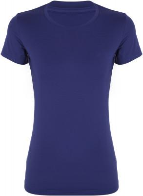 Футболка женская Demix, размер 46Футболки<br>Практичная женская футболка для фитнес-тренировок от demix. Комфортная посадка приталенный крой и эластичный материал гарантируют удобство во время занятий спортом.