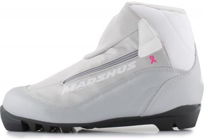 Ботинки для беговых лыж женские Madshus Amica100Женская модель прогулочных лыжных ботинок для классического хода.<br>Сезон: 2016/2017; Назначение: Прогулочные; Стиль катания: Классический; Уровень подготовки: Начинающий; Пол: Женский; Возраст: Взрослые; Вид спорта: Беговые лыжи; Система креплений: NNN; Утеплитель: Флис; Система шнуровки: Закрытая; Технологии: Membrain Softshell, RevoWrap; Производитель: Madshus; Артикул производителя: N164012; Срок гарантии: 1 год; Страна производства: Китай; Размер RU: 39;