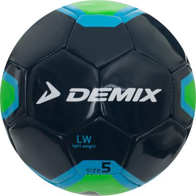 Мяч футбольный DemixМячи<br>Облегченный футбольный мяч - идеальный вариант для развития игровых навыков у детей.