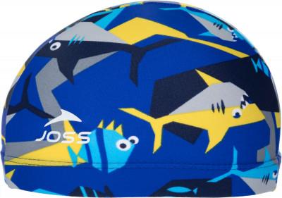 Шапочка для плавания детская Joss, размер 52-54Шапочки для плавания<br>Удобная и яркая детская шапочка для плавания от joss - это отличный выбор для похода в бассейн.