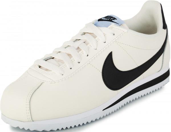 2f389de3 Кроссовки женские Nike Classic Cortez Leather кремовый цвет — купить за  6699 руб. в интернет-магазине Спортмастер