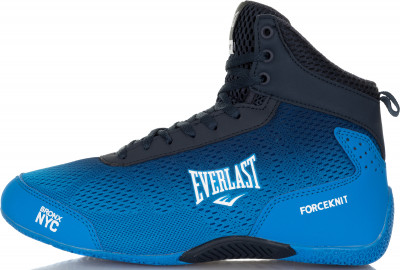 Боксерки мужские Everlast Forceknit, размер 44Обувь <br>Отличный выбор как для ринга, так и для занятий в спортивном зале - боксерки everlast forceknit.