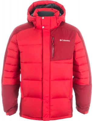 Куртка пуховая мужская Columbia SheerdownМужская пуховая куртка подойдет для горного туризма в холодное время года. Защита от влаги верхняя ткань изделия обработана водоотталкивающей пропиткой.<br>Пол: Мужской; Возраст: Взрослые; Вид спорта: Горный туризм; Температурный режим: До -15; Покрой: Прямой; Длина куртки: Средняя; Капюшон: Отстегивается; Количество карманов: 4; Технологии: Omni-Heat, TurboDown; Производитель: Columbia; Артикул производителя: 1683191613L; Страна производства: Вьетнам; Материал верха: 100 % нейлон; Материал подкладки: 100 % полиэстер; Материал утеплителя: Пух, полиэстер; Размер RU: 48-50;