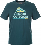 Футболка мужская Columbia Hunter's Canyon Short Sleeve