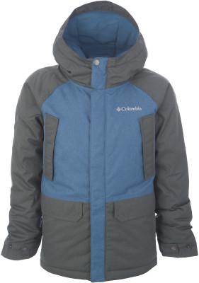 Куртка утепленная для мальчиков Columbia Chesterbrook Insulated, размер 137-147Куртки <br>Утепленная куртка для маленьких туристов от columbia - удачный вариант для межсезонья.