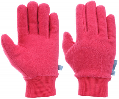 Перчатки для девочек OutventureЯркие флисовые перчатки для активного отдыха и путешествий от outventure. Благодаря составу из акрила отлично сохраняют тепло, обладают малым весом, быстро сохнут.<br>Пол: Женский; Возраст: Дети; Вид спорта: Путешествие; Материал верха: 100 % полиэстер; Производитель: Outventure; Артикул производителя: JGS31R14; Страна производства: Китай; Размер RU: 4;