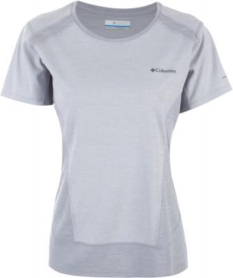 Футболка женская Columbia Solar Chill Short SleeveТехнологичная футболка с коротким рукавом от columbia, разработанная специально для активного отдыха на природе.<br>Пол: Женский; Возраст: Взрослые; Вид спорта: Походы; Защита от УФ: Да; Покрой: Приталенный; Плоские швы: Нет; Светоотражающие элементы: Нет; Дополнительная вентиляция: Нет; Длина по спинке: 66 см; Материалы: 100 % полиэстер; Технологии: Omni-Shade, Omni-Shade Sun Deflector, Omni-Wick; Производитель: Columbia; Артикул производителя: 1781171039S; Страна производства: Вьетнам; Размер RU: 44;