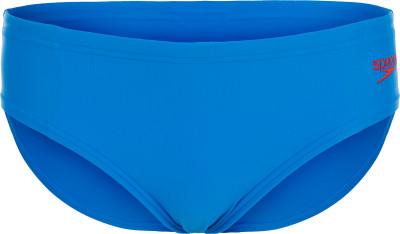 Плавки для мальчиков Speedo Ess Logo, размер 128Плавки, шорты плавательные<br>Детские спортивные плавки от speedo - отличное решение для бассейна. Защита от хлора модель, выполненная из ткани endurance10, максимально устойчива к воздействию хлора.