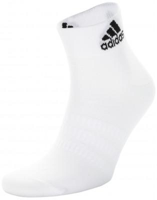 Носки adidas, 3 пары, размер 43-45