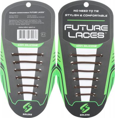 Шнурки силиконовые SolersЭластичные силиконовые шнурки станут удобной и функциональной заменой традиционным шнуркам. Они позволяют быстро обуться и подходят к любому размеру обуви.<br>Пол: Мужской; Возраст: Взрослые; Материалы: 100 % силикон; Производитель: Solers; Артикул производителя: E554LS; Страна производства: Китай; Размер RU: Без размера;