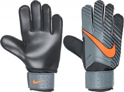 Перчатки вратарские Nike Match GoalkeeperФутбольные перчатки nike match goalkeeper позволяют удержать мяч в любую погоду: пеноматериал на основе латекса гарантирует отличное сцепление, а также смягчает удар.<br>Тип фиксации: Липучка; Материал верха: 40 % резина, 30 % полиуретан, 19 % эва, 11 % нейлон; Вид спорта: Футбол; Производитель: Nike; Артикул производителя: GS0344-089; Срок гарантии: 30 дней; Страна производства: Бельгия; Размер RU: 9;