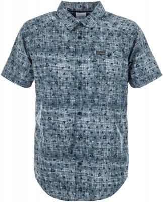 Рубашка мужская Columbia Brentyn Trail, размер 48-50Рубашки<br>Мужская рубашка с коротким рукавом прекрасно подойдет для прогулок в теплое время года.