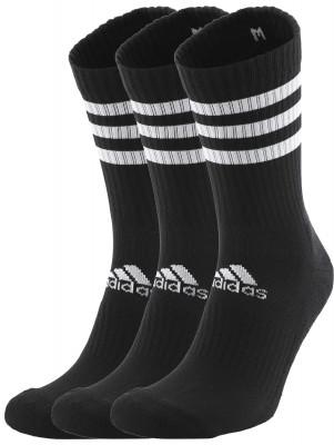 Носки мужские adidas 3-Stripes, 3 пары, размер 43-45