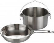 Набор посуды: котелок, сковорода-миска Tatonka KETTLE 1.6 L