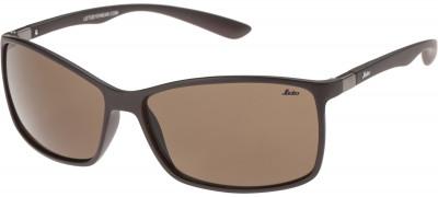 Солнцезащитные очки LetoЛегкие и удобные солнцезащитные очки с полимерными линзами в пластмассовой оправе.<br>Цвет линз: Коричневый; Назначение: Городской стиль; Пол: Мужской; Возраст: Взрослые; Ультрафиолетовый фильтр: Да; Материал линз: Полимерные линзы; Оправа: Пластик; Производитель: Leto; Артикул производителя: 701710B; Срок гарантии: 1 месяц; Страна производства: Китай; Размер RU: Без размера;