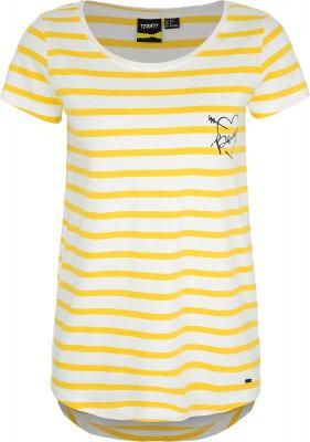 Футболка женская Termit, размер 42Skate Style<br>Удобная и легкая футболка от termit для ярких событий и летних приключений. Свобода движений прямой крой позволяет двигаться свободно и естественно.