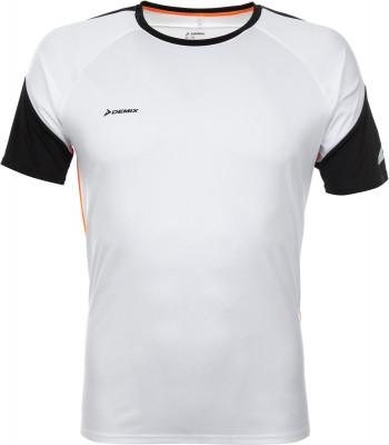 Футболка мужская Demix, размер 52Футболки<br>Мужская футболка для занятий футболом от demix. Отведение влаги благодаря технологии movi-tex ткань хорошо отводит влагу от тела.