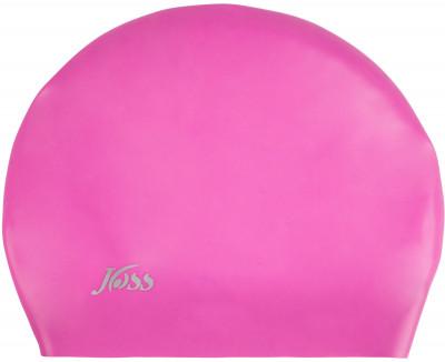 Шапочка для плавания женская JossЖенская силиконовая шапочка joss - удачный вариант для плавания. Специальная конструкция подойдет для обладательниц длинных волос.<br>Пол: Женский; Возраст: Взрослые; Вид спорта: Плавание; Назначение: Для длинных волос; Материалы: 100 % силикон; Производитель: Joss; Артикул производителя: WAC02A7X20; Страна производства: Китай; Размер RU: Без размера;