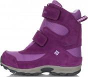 Ботинки утепленные для девочек Columbia Childrens Parkers Peak Velcro