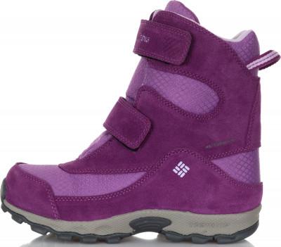 Ботинки утепленные для девочек Columbia Childrens Parkers Peak Velcro, размер 33