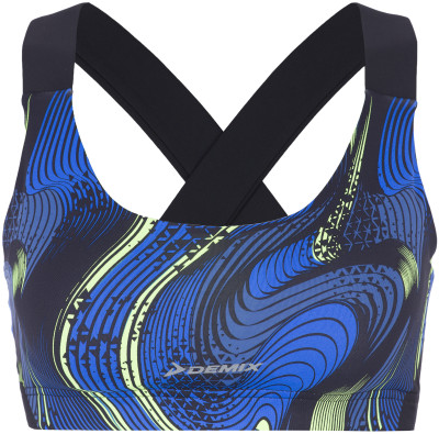 Бра Demix, размер 42Бра<br>Оптимальный выбор для занятий фитнесом - технологичное бра от demix. Комфорт плоские швы не натирают кожу.