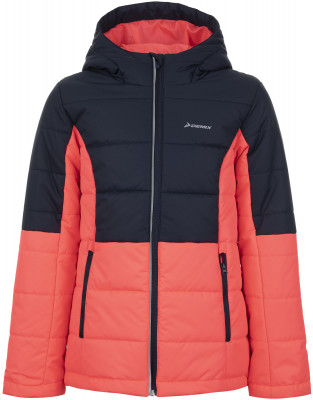 Куртка утепленная для девочек Demix, размер 128Куртки <br>Утепленная куртка для девочек от demix позволяет тренироваться на свежем воздухе даже в прохладные дни.