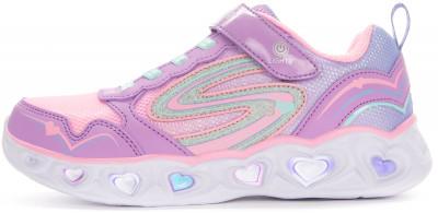 Кроссовки для девочек Skechers Heart Lights Love Spark, размер 31,5