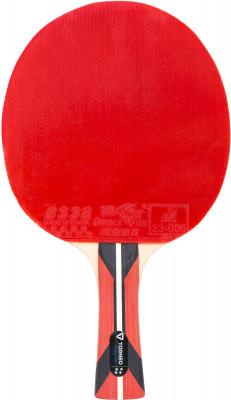 Ракетка для настольного тенниса Torneo MasterРакетка для настольного тенниса torneo master разработана специально для совершенствования техники вращения и отработки точности удара.<br>Скорость: 8; Контроль: 9; Вращение: 8; Тип основания: OFF -; Материал основания: Платан, абачи; Толщина основания: 5,5 мм; Форма ручки: Вогнутая; Тип накладки: Гладкая; Толщина губки: 2,0 мм; Материал накладки: Резина ITTF 8338, губка; Вид спорта: Настольный теннис; Уровень подготовки: Профессионал; Технологии: HWM, Sandwich, Spin-Speed; Производитель: Torneo; Артикул производителя: TI-B4.0; Срок гарантии: 2 года; Страна производства: Китай; Размер RU: Без размера;