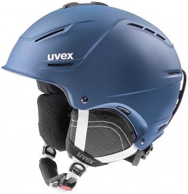 Шлем Uvex P1us 2.0Удобный шлем от uvex с конструкцией technology обеспечит безопасность на склоне.<br>Пол: Мужской; Возраст: Взрослые; Вид спорта: Горные лыжи; Конструкция: Hard shell; Вентиляция: Регулируемая; Сертификация: EN 1077 B; Регулировка размера: Есть; Тип регулировки размера: Поворотное кольцо; Материал внешней раковины: Пластик; Материал внутренней раковины: Пенополистирол; Материал подкладки: Полиэстер; Технологии: +technology, IAS, Natural Sound; Производитель: Uvex; Артикул производителя: 6211; Срок гарантии: 2 года; Страна производства: Германия; Размер RU: 59-62;