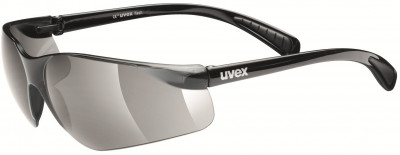 Солнцезащитные очки Uvex FlashСолнцезащитные очки от uvex, выполненные в минималистичном дизайне, обеспечивают оптимальный обзор.<br>Возраст: Взрослые; Пол: Мужской; Цвет линз: Дымчатый; Цвет оправы: Черный; Назначение: Бег, велоспорт; Ультрафиолетовый фильтр: Да; Поляризационный фильтр: Нет; Зеркальное напыление: Нет; Категория фильтра: 3; Материал линз: Поликарбонат; Оправа: Пластик; Вид спорта: Бег, Велоспорт; Технологии: 100% UVA- UVB- UVC-PROTECTION; Производитель: Uvex; Артикул производителя: S5302792210; Срок гарантии: 1 месяц; Страна производства: Китай; Размер RU: Без размера;
