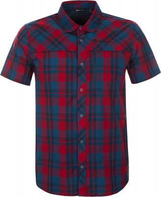 Рубашка мужская Outventure, размер 60Рубашки<br>Удобная рубашка с коротким рукавом от outventure пригодится во время активного отдыха на природе практичность в модели предусмотрен нагрудный карман.