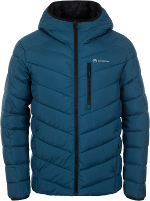 Куртка утепленная мужская Outventure, размер 46Куртки <br>Утепленная куртка outventure пригодится в походах и во время активного отдыха на природе.