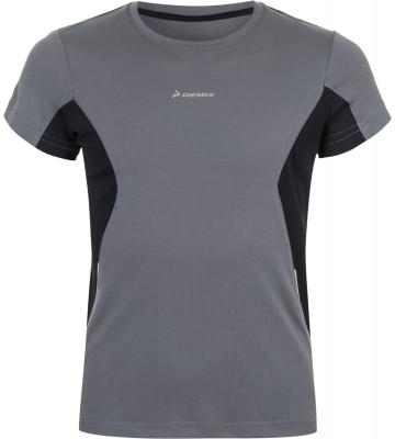 Футболка для мальчиков DemixУдобная и практичная футболка для мальчиков от demix оптимально подойдет для пробежек. Отведение влаги технология movi-tex для эффективного влагоотвода.<br>Пол: Мужской; Возраст: Дети; Вид спорта: Бег; Защита от УФ: Нет; Покрой: Прямой; Светоотражающие элементы: Да; Дополнительная вентиляция: Да; Технологии: MOVI-tex; Производитель: Demix; Артикул производителя: ETSB009115; Страна производства: Китай; Материалы: 100 % полиэстер; Размер RU: 158;
