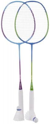 Набор для бадминтона Torneo (2 ракетки, 2 волана, чехол)Набор для бадминтона, состоящий из 2 стальных ракеток и 2 воланов, станет прекрасным выбором для отдыха на открытом воздухе. В комплект входит чехол.<br>Длина: 665 мм; Вид спорта: Бадминтон; Технологии: T-JS; Производитель: Torneo; Артикул производителя: RS-1100; Срок гарантии: 2 года; Страна производства: Китай; Размер RU: Без размера;