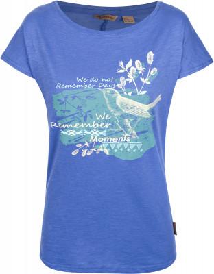 Футболка женская Outventure, размер 50Футболки<br>Женская футболка от outventure отлично подойдет для прогулок и путешествий. Натуральные материалы модель выполнена из натурального воздухопроницаемого хлопка.