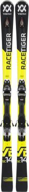 Горные лыжи Volkl Racetiger Sc Black + Vmotion 11 Gw