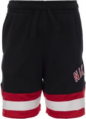 Шорты для мальчиков Nike, размер 110МАЛЫШИ<br>Удобные шорты для малышей, выполненные в спортивном стиле. Натуральные материалы натуральный хлопок для комфорта и воздухообмена.