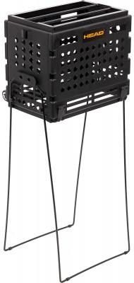 Корзина для мячей HeadКорзина на 72 мяча с колесиками - незаменимый атрибут для тренировок и соревнований. Удобна в транспортировке.<br>Размеры (дл х шир х выс), см: 74 х 37 х 5; Вид спорта: Теннис; Производитель: Head Sport GmbH; Артикул производителя: TM7003; Срок гарантии: 2 года; Страна производства: Китай; Размер RU: Без размера;