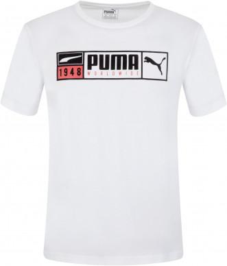 Футболка мужская Puma Gold Plate Brand Graphic