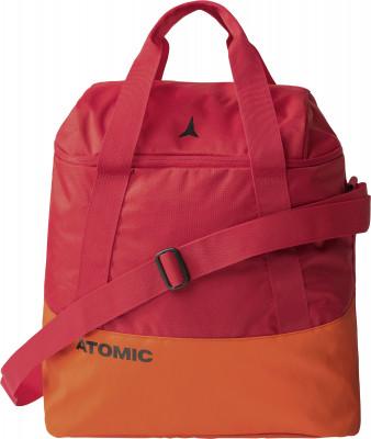 Сумка для горнолыжных ботинок AtomicПрактичная сумка для горнолыжных ботинок, шлема и аксессуаров atomic. В большое основное отделение легко помещают шлем и аксессуары. Материал подкладки легко чистится.<br>Состав: Нейлон; Объем: 40 л; Размеры (дл х шир х выс), см: 41 x 37 x 24,5; Вид спорта: Горные лыжи; Производитель: Atomic; Артикул производителя: AL5038210; Срок гарантии: 2 года; Страна производства: Вьетнам; Размер RU: Без размера;