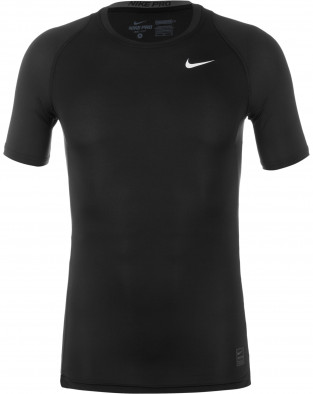 Футболка мужская Nike Pro Cool Compression черный цвет - купить за ... 60700bb4f42