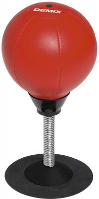 Груша настольная Demix Punch ballНастольная груша поможет отработать удары не выходя из дома! Не упустите возможность улучшить координацию, скорость и точность ударов! Груша закреплена на мощной пружине, а<br>Материал верха: Поливинилхлорид; Материал наполнителя: Резиновая камера; Материал основания: Пластик, металл; Вид спорта: Бокс, Карате, ММА, Самбо, Тхэквондо; Производитель: Demix; Артикул производителя: DCS-812R; Срок гарантии: 3 месяца; Страна производства: Китай; Размер RU: Без размера;