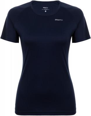 женская футболка craft, синяя
