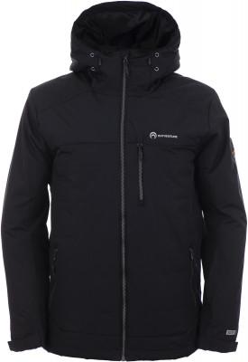 Куртка утепленная мужская Outventure, размер 54Куртки <br>Утепленная непромокаемая куртка от outventure пригодится во время активного отдыха на природе. Водонепроницаемость мембрана add dry защищает от промокания.